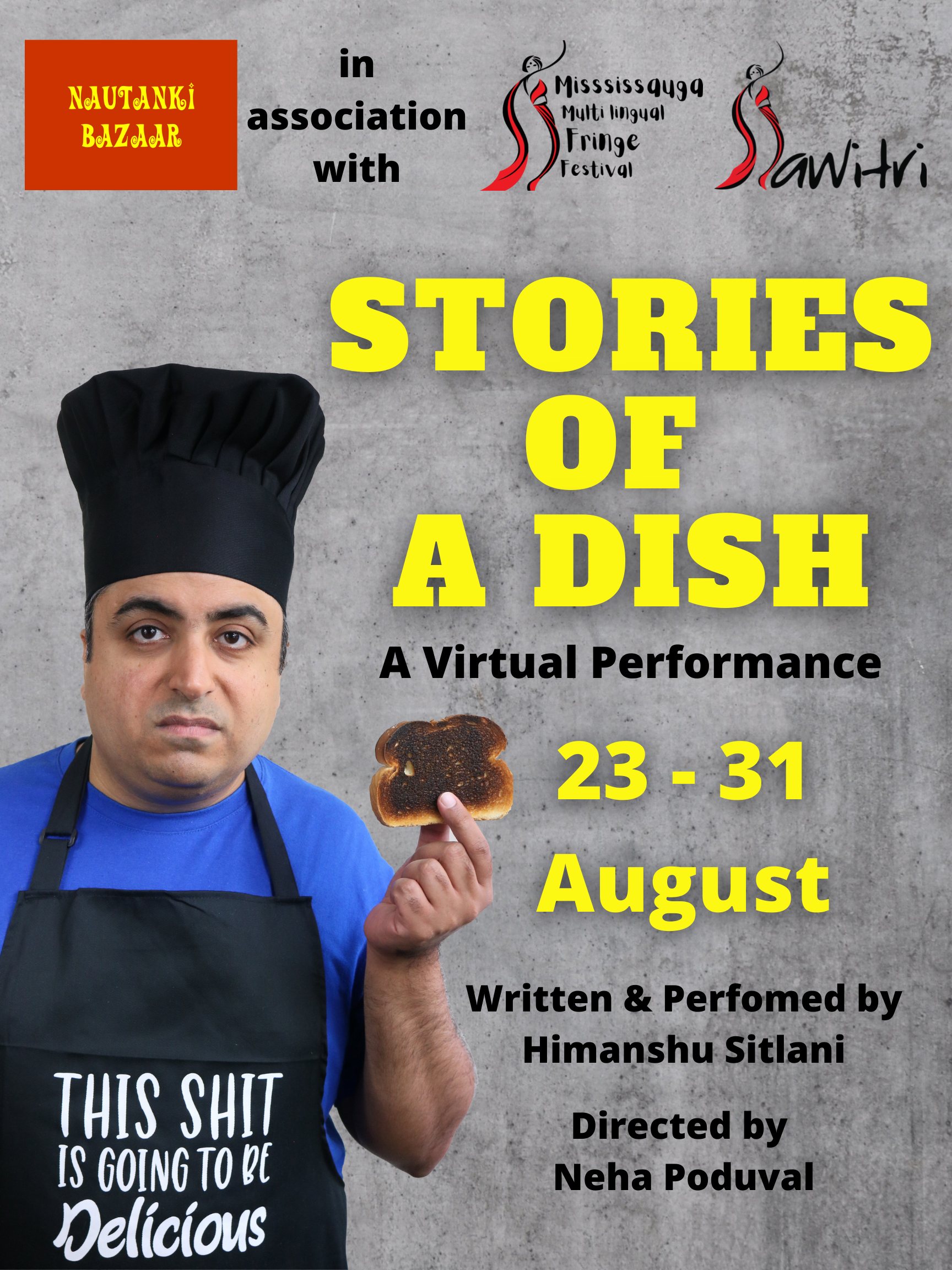STORIES OF A DISH poster for MMFF